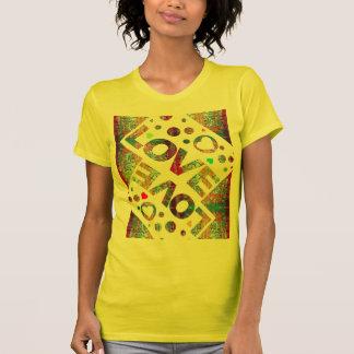 T-shirt do motivo de Mexicana do coração do amor