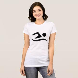 T-shirt do nadador. .png camiseta