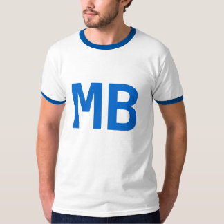 T-shirt do oficial dos azuis do molde camiseta