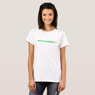T-shirt do optimismo da transferência camiseta