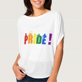 T-shirt do orgulho da cidade do arco-íris de LGBT Camiseta