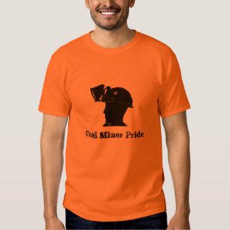 T-shirt do orgulho do mineiro de carvão