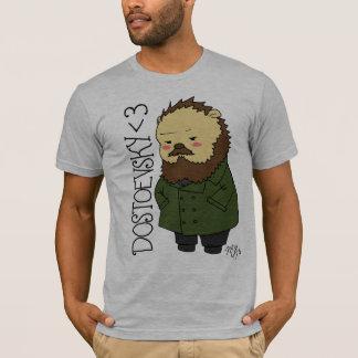 T-shirt do ouriço de Dostoevsky Camiseta