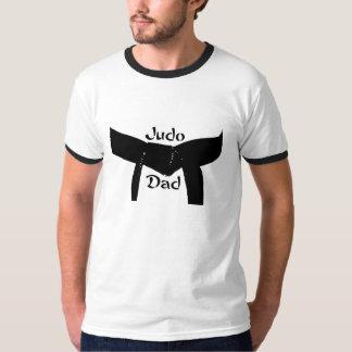 T-shirt do pai do judo do cinturão negro das artes camiseta