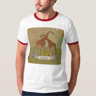 T-shirt do pai dos girafas