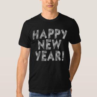 T-shirt do partido do feliz ano novo