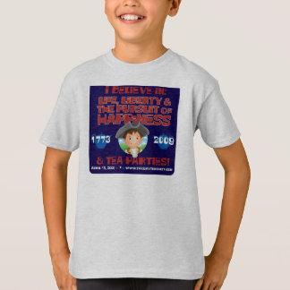T-shirt do patriota de Lil Camiseta