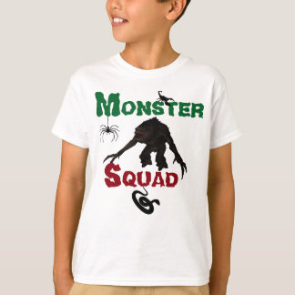 T-shirt do pelotão do monstro dos miúdos camiseta