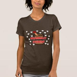 T-shirt do pilão e do almofariz do ESTUDANTE da Camiseta