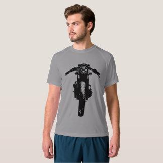 T-shirt do piloto do café, a camisa dos homens da