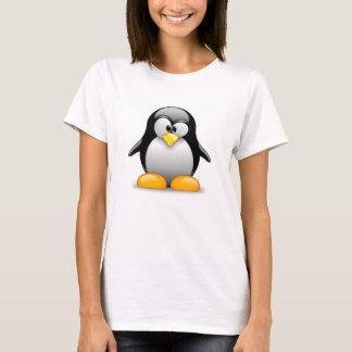 T-shirt do pinguim camiseta