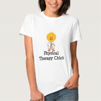 T-shirt do pintinho da fisioterapia