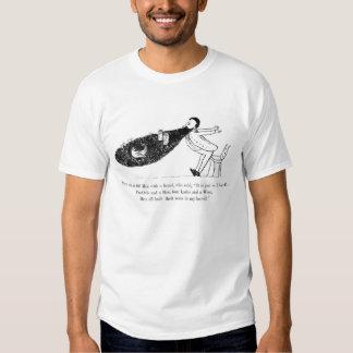 T-shirt do poema da barba de Edward Lear do