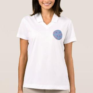 T-shirt do polo das mulheres chinesas das