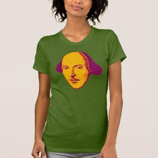 T-shirt do pop art de William Shakespeare Camiseta