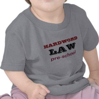 T-shirt do pré-escolar da LEI