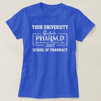T-shirt do presente da graduação da escola da camiseta