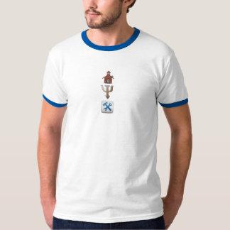 T-shirt do psicólogo da escola camiseta