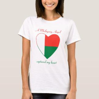 T-shirt do querido da bandeira de Madagascar Camiseta