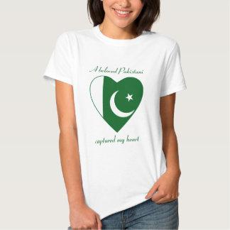 T-shirt do querido da bandeira de Paquistão