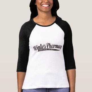 T-shirt do Raglan da farmácia de Heinle