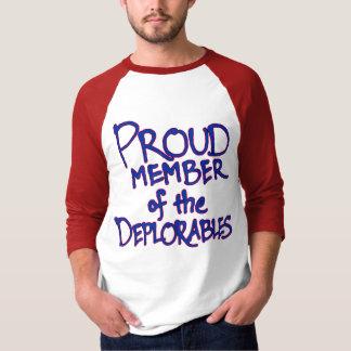 T-shirt do Raglan de Deplorables