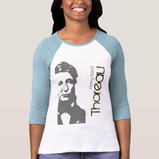 T-shirt do Raglan de Henry David Thoreau