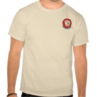 T-shirt do remendo do jogador AMU