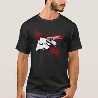 T-shirt do respingo do bombardeiro camiseta