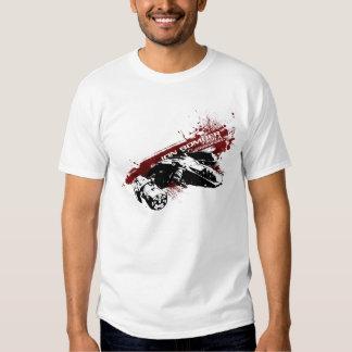 T-shirt do respingo do bombardeiro do íon
