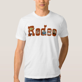 T-shirt do rodeio
