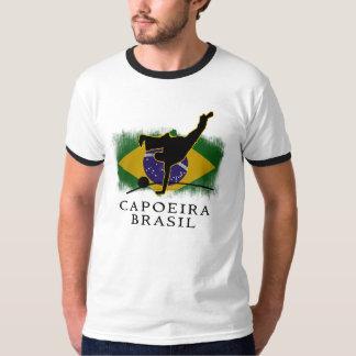 T-shirt do roupa | do Capoeira Brasil dos homens Camiseta