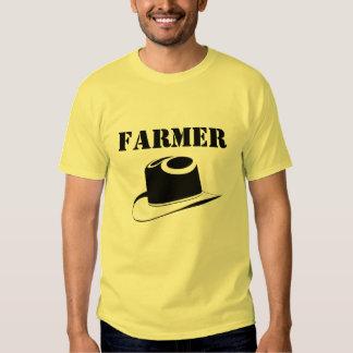 T-shirt do ` s do homem do fazendeiro
