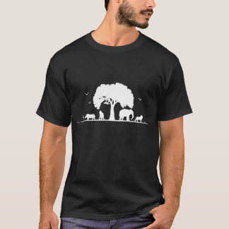 T-shirt do safari camiseta