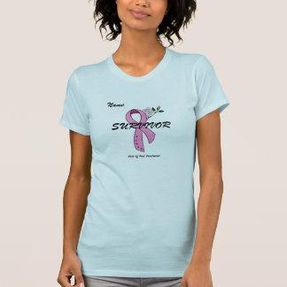 T-shirt do SOBREVIVENTE do cancro da mama - Camiseta