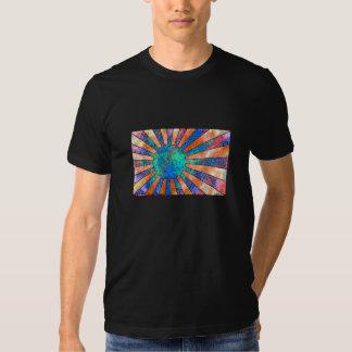 T-shirt do sol do Hippie
