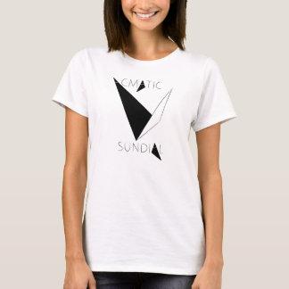 T-shirt do Sundial das senhoras Camiseta