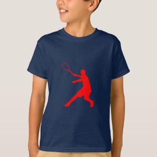T-shirt do tênis para o sportswear dos miúdos dos camiseta