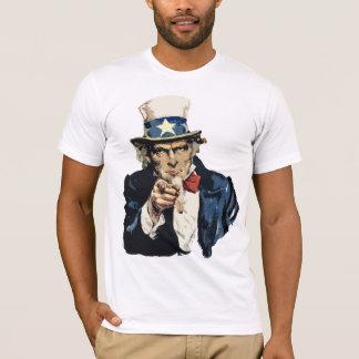 T-shirt do tio Sam Camiseta