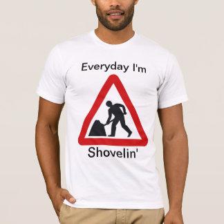 T-shirt do trabalho do partido camiseta
