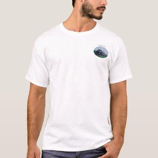 T-shirt do trem do vapor camiseta