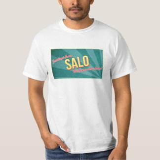 T-shirt do turismo de Salo Camiseta