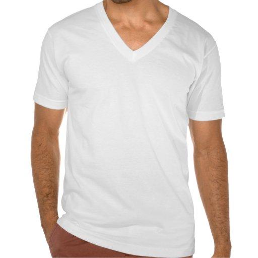T-shirt do V-pescoço de Carnaval de Cuba