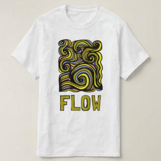 """T-shirt do valor do """"fluxo"""" camiseta"""