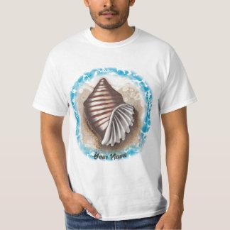 T-shirt do valor do SeaShell Camiseta