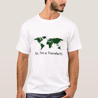 T-shirt do viajante!!! camiseta