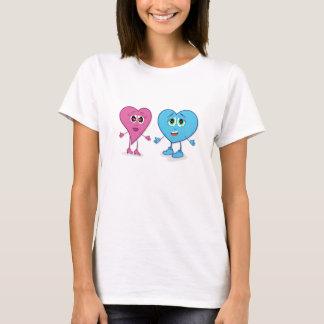 T-shirt dos corações de Lovin Camiseta