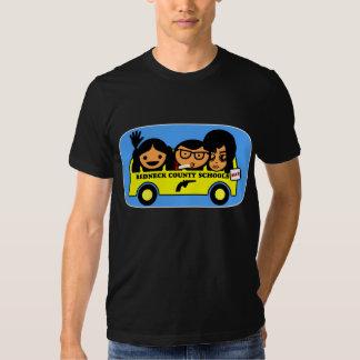 T-shirt dos desenhos animados das escolas