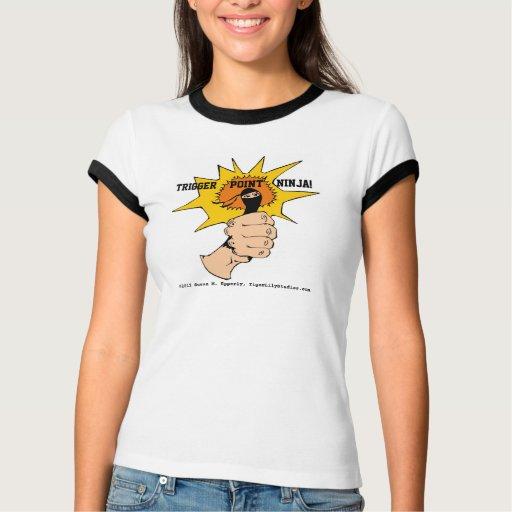 T-shirt dos desenhos animados do ® de Ninja do