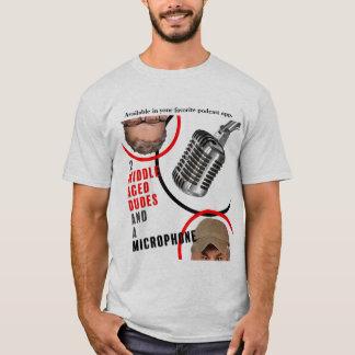T-shirt dos gajos dos homens 2 camiseta